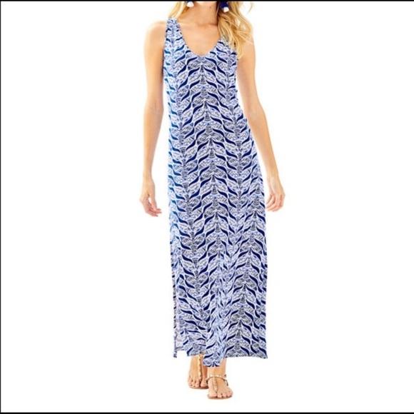 Lilly Pulitzer Dresses & Skirts - Lilly Pulitzer Kerri Maxi Dress Size XS